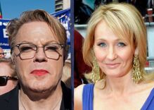 Trans comic Eddie Izzard defends J.K. Rowling against transphobia accusations