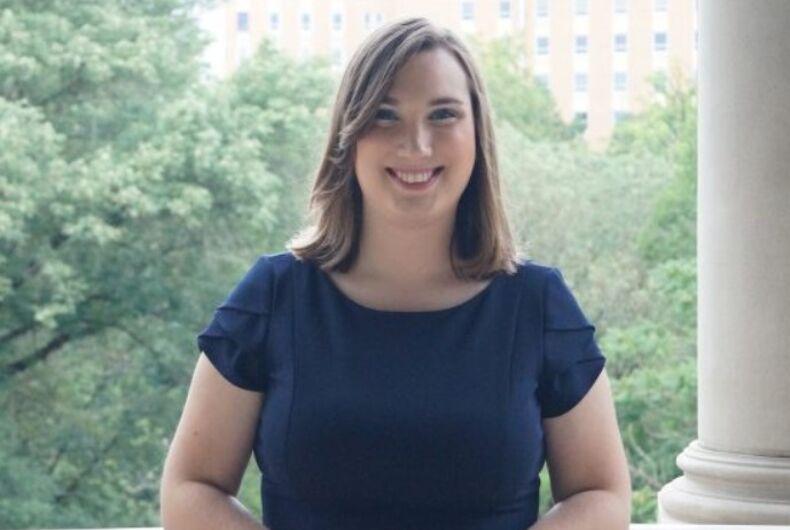 Delaware Sen. Sarah McBride (D)