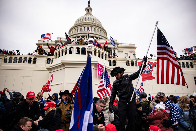 Insurrectionists loyal to President Donald Trump storm the US Capitol