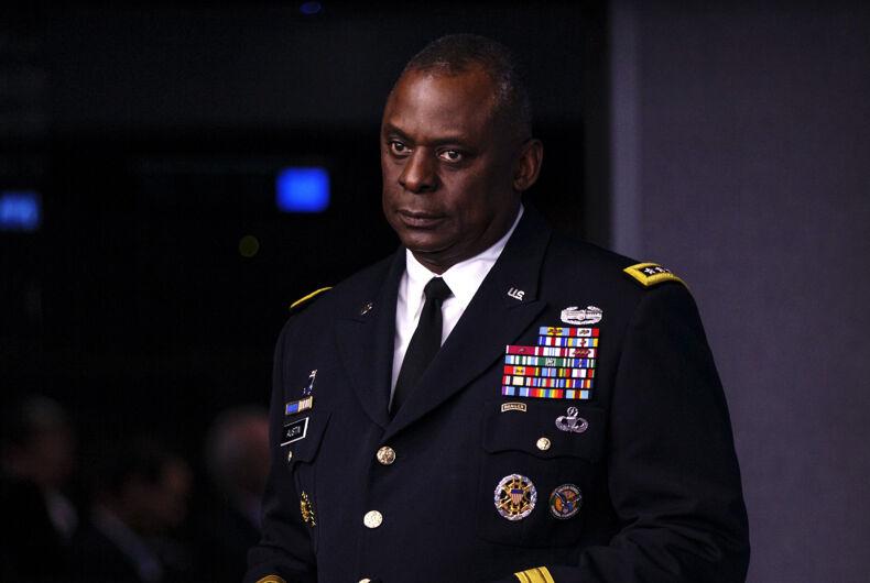 Retired General Lloyd Austin on Jan. 17, 2021