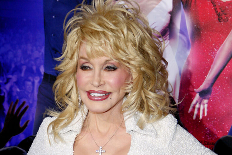 Dolly Parton at the Los Angeles Premiere of