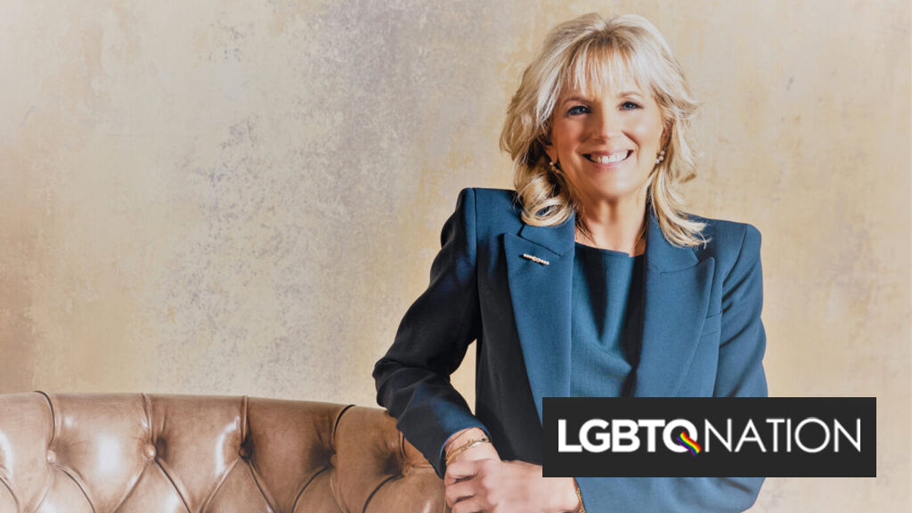 Dr. Jill Biden visits a LGBTQ community clinic in just her second day as First Lady