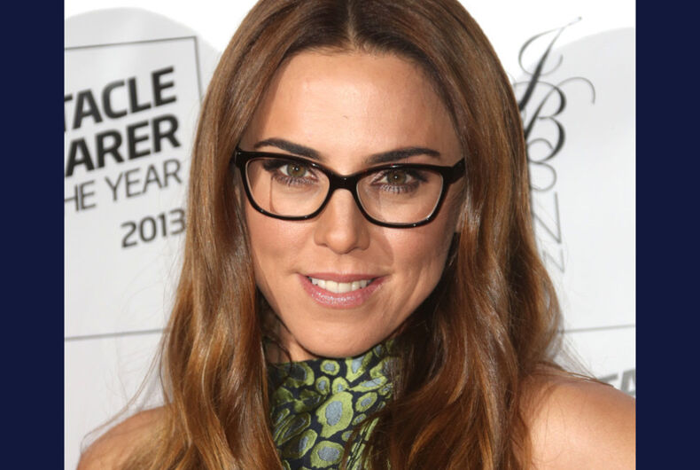 Melanie C at The Specsavers' Spectacle Wearer of the Year 2013 held at the Royal Opera House, London on October 09, 2013.