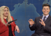 "SNL's demon-possessed Marjorie Taylor Greene breaks down how ""traditional"" gender roles work"