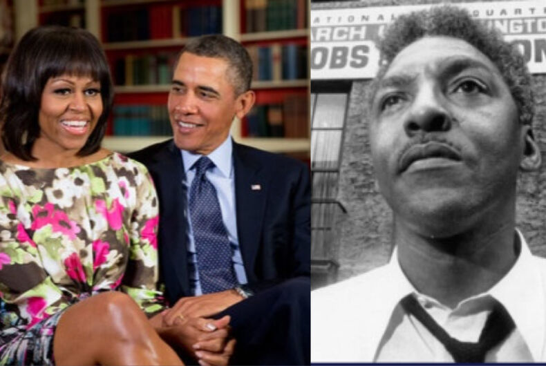 The Obamas will produce an upcoming film about Bayard Rustin