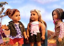 There's now a petition to rescue children from the American Girl doll with lesbian aunts
