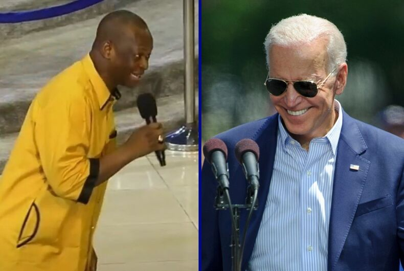Bishop Emmah Isong/President Joe Biden