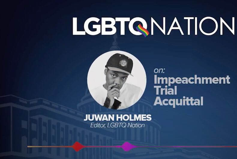 What does the impeachment acquittal & anti-trans legislation have in common?
