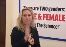 """Marjorie Taylor Greene says trans rights are """"exactly"""" the same as the Taliban's ideology"""