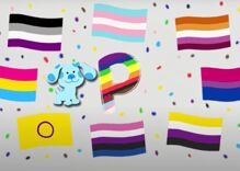"""Blues Clues"" alphabet song declares ""P is full of Pride!"" in colorful video"