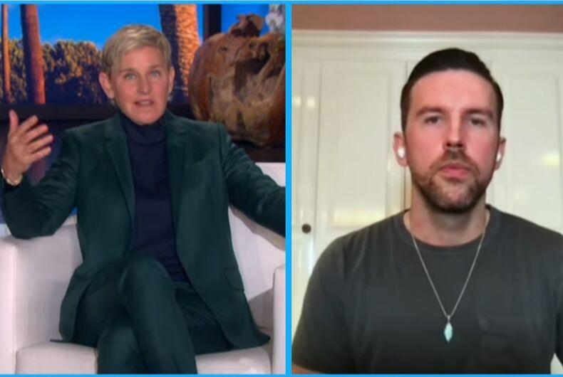 T.J. Oscborne on Ellen DeGeneres's show