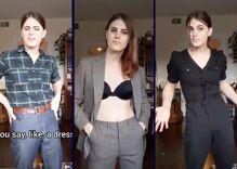 Trans lesbian destroys transphobic trope in viral video