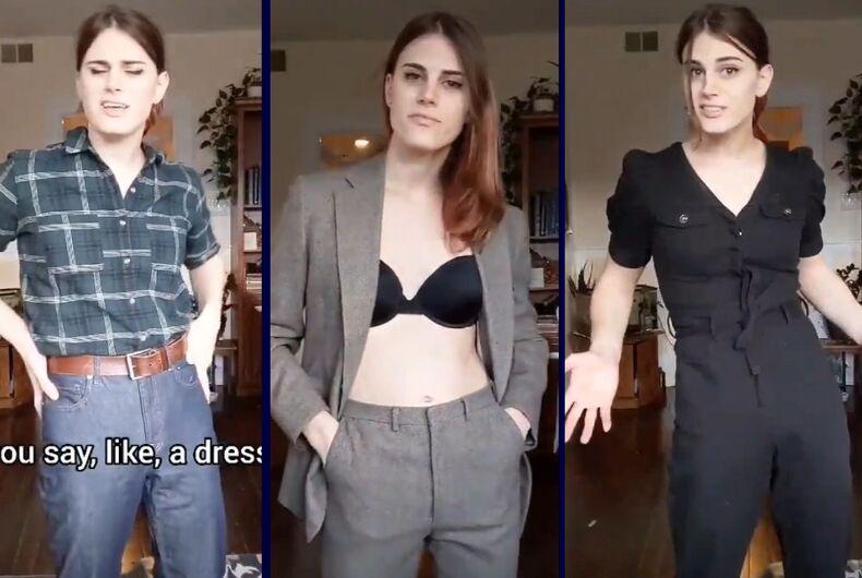 3 of Eva's fashionable looks