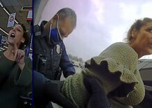 Cops arrest woman having a dramatic COVID mask meltdown. Her name is literally Karen.