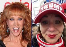 Kathy Griffin gets ultimate revenge on MAGA harasser by turning her in to FBI for rioting at Capitol