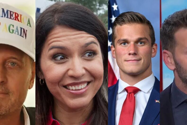 Richard Grenell, Tulsi Gabbard, Madison Cawthorn, and Aaron Schock