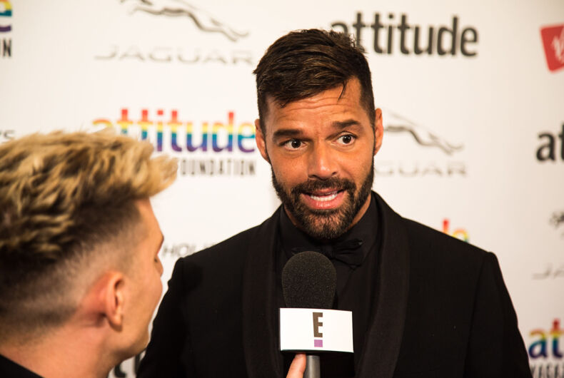 Ricky Martin at the VIRGIN HOLIDAYS ATTITUDE AWARDS POWERED BY JAGUAR at Roundhouse, Chalk Farm Rd, Camden Town, London