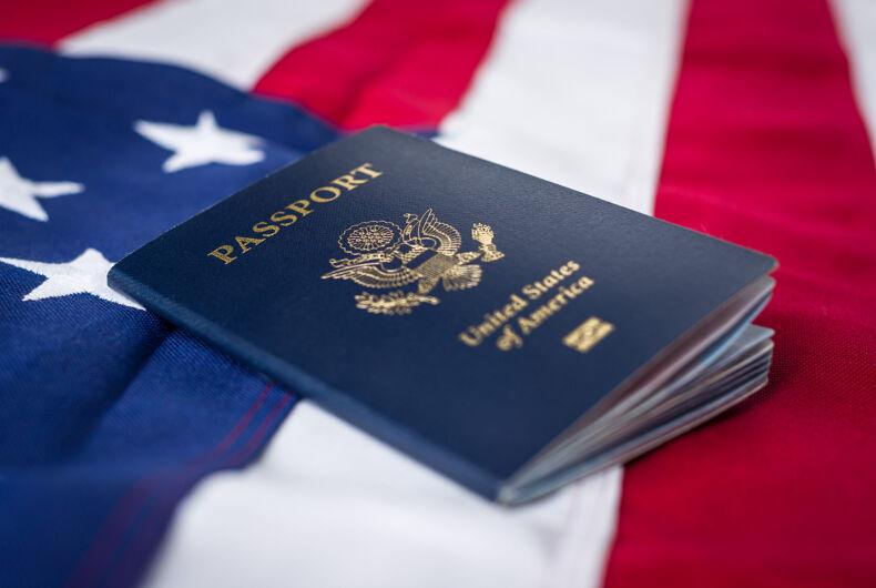 United States Passport for Travel
