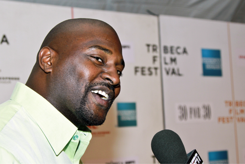 Marcellus Wiley at the 'Straight Outta L.A.' premiere presented by ESPN Gala during the 2010 Tribeca Film Festival on April 23, 2010 in NYC.