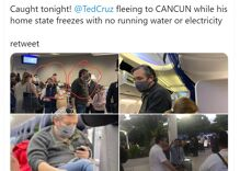 Was Ted Cruz busted sneaking off for a Cancun vacation as Texas freezes?