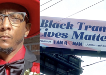 "This activist places billboards around Atlanta telling people ""Black Trans Lives Matter"""