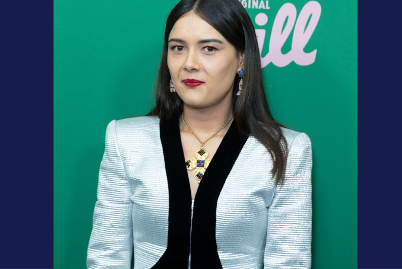 Patti Harrison attends New York Hulu Shrill premiere screening at Walter Reade Theater of Lincoln Center on March 13, 2019