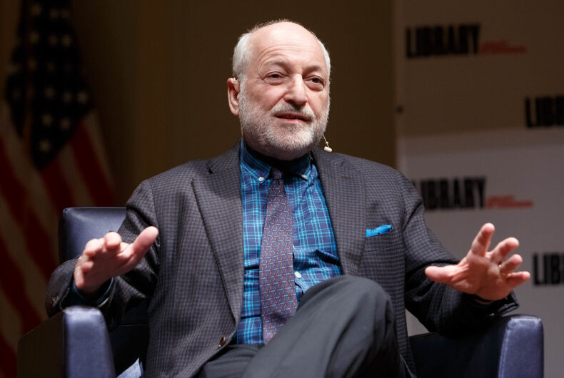 Author André Aciman speaks about his work during the