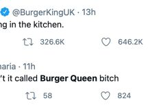 Burger King's cringey International Women's Day tweet has people begging Burger Queen to take over