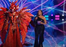 Caitlyn Jenner revealed as Masked Singer's Phoenix when she was booted from the show