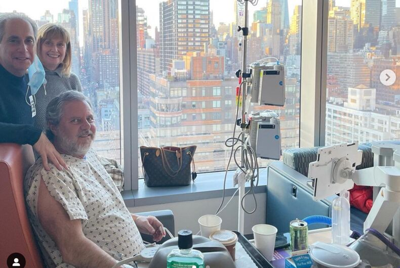 Jerry Falwell Jr. recuperating from a lung illness at New York University (NYU) Langone Health Center.