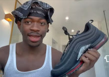 "Lil Nas X calls out the ""crying nerds on the internet"" who got his Satan shoes canceled"