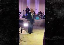 Trump crashed a wedding reception at Mar-a-Lago to rant about Joe Biden