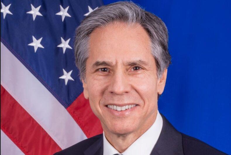 Sec. of State Antony Blinken