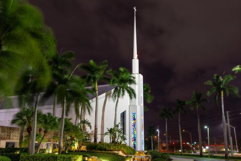 October 01, 2019: Coral Ridge Presbyterian Church is a Christian megachurch in Ft. Lauderdale, FL.