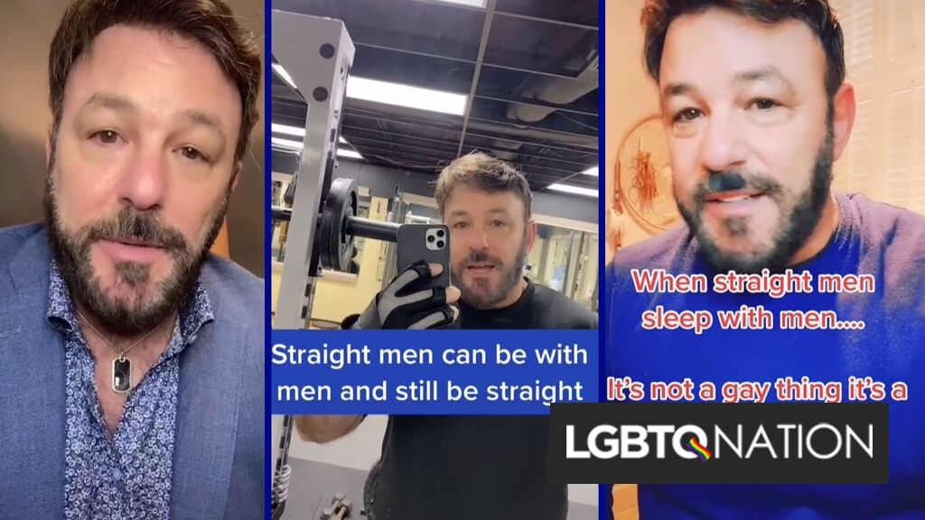 Are straight men who have sex with men actually straight?