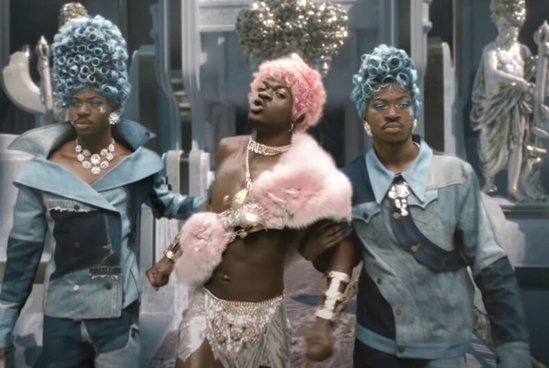 Lil Nas X in his new video