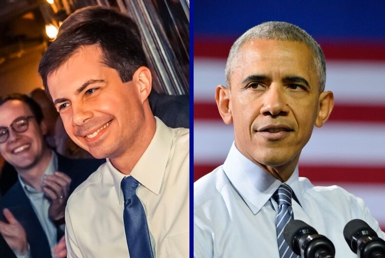 Pete Buttigieg/Barack Obama