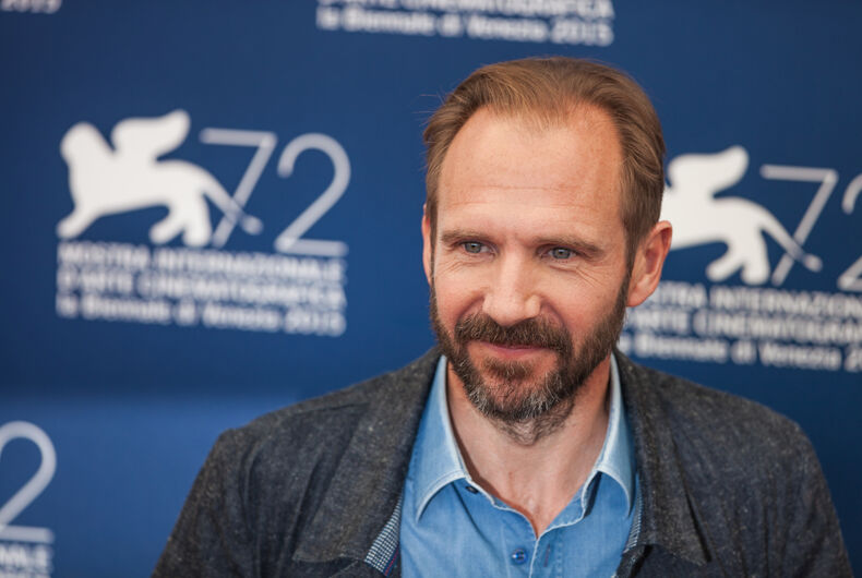 Venice, Italy - 06 September 2015: Ralph Fiennes attends a photocall for 'A Bigger Splash' during the 72nd Venice Film Festival