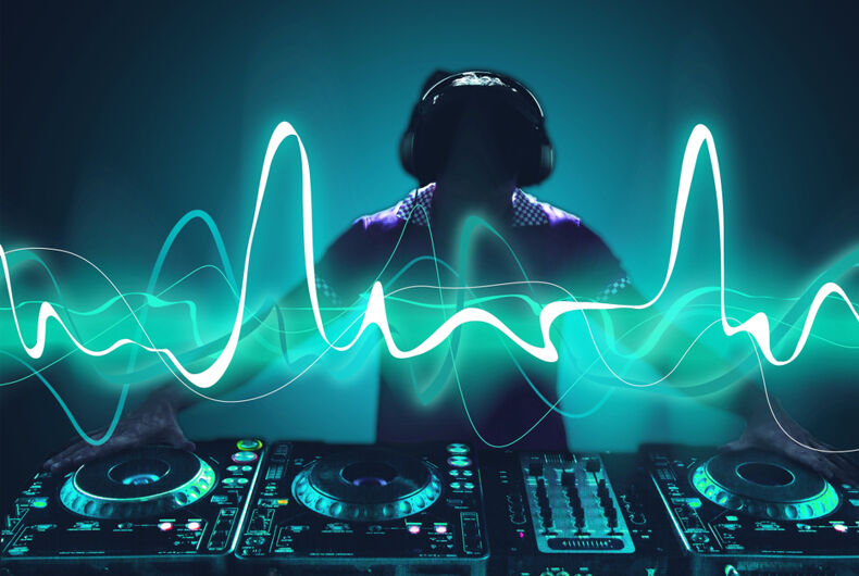 DJ and electricity, just some stock art