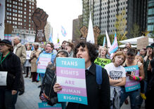 Wave of bills attacking transgender youth inspires protests all over the U.S.