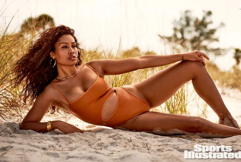 Leyna Bloom in the Sports Illustrated swimsuit issue