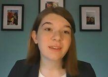 16-year-old trans teen Stella Keating bravely testifies against hate in the Senate