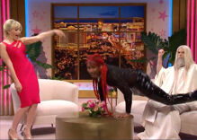 """SNL's Lil Nas X gives God a lap dance in front of Britney Spears """"just to even things out"""""""