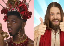 Lil Nas X made a new version of his controversial song… and Jesus Christ approves