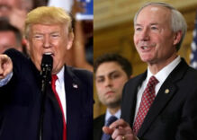 Trump slams Arkansas Republican governor over his veto of anti-trans bill