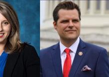 """Former Congresswoman Katie Hill has a lot to say about the """"gross"""" Matt Gaetz"""