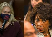 Marjorie Taylor Greene is trying to get Maxine Waters expelled from Congress