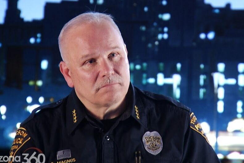 Tuscon Police Chief Chris Magnus