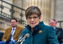 Kansas governor signals she will veto bill banning transgender girls from school sports