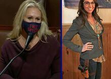 """Comically evil"" Marjorie Taylor Greene & Lauren Boebert voted against bone marrow transplants"